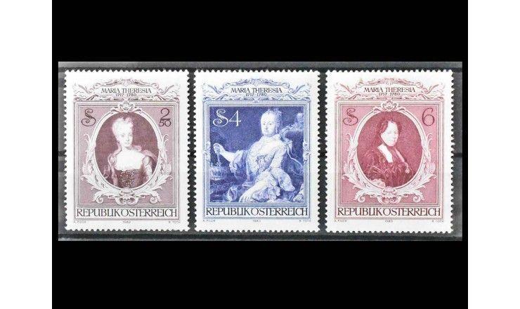 "Австрия 1980 г. ""200-летие смерти Марии Терезии"""