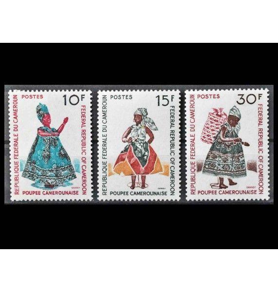 """Камерун 1970 г. """"Куклы из Камеруна"""""""