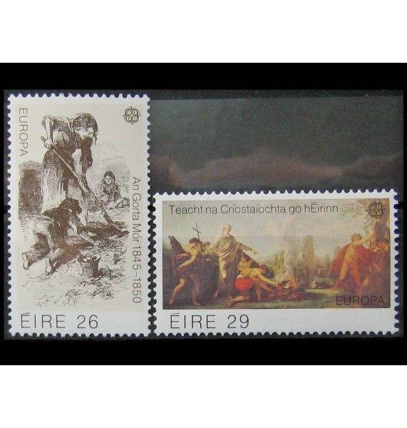 """Ирландия 1982 г. """"Европа: Исторические события"""""""