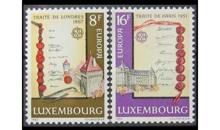 """Люксембург 1982 г. """"Европа: Исторические события"""""""