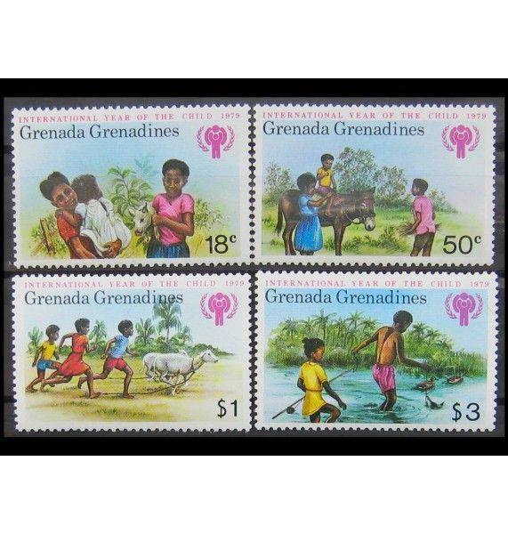 """Гренада и Гренадины 1979 г. """"Международный год ребенка"""""""