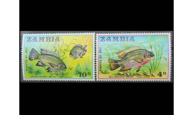 "Замбия 1971 г. ""Рыбы Замбии"""