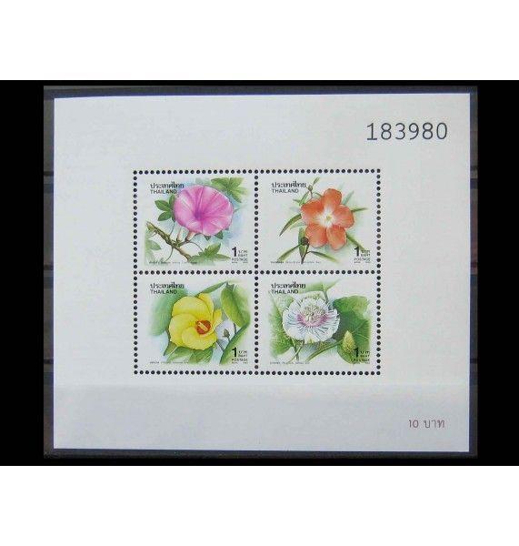 """Таиланд 1993 г. """"Новогодние цветы"""""""