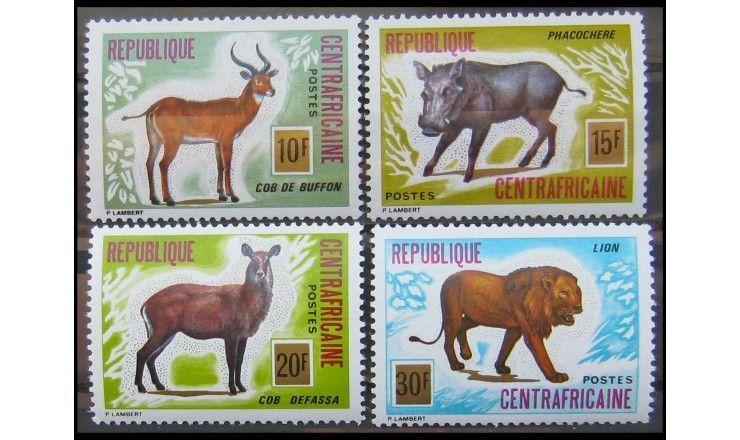"ЦАР 1975 г. ""Африканские животные"""