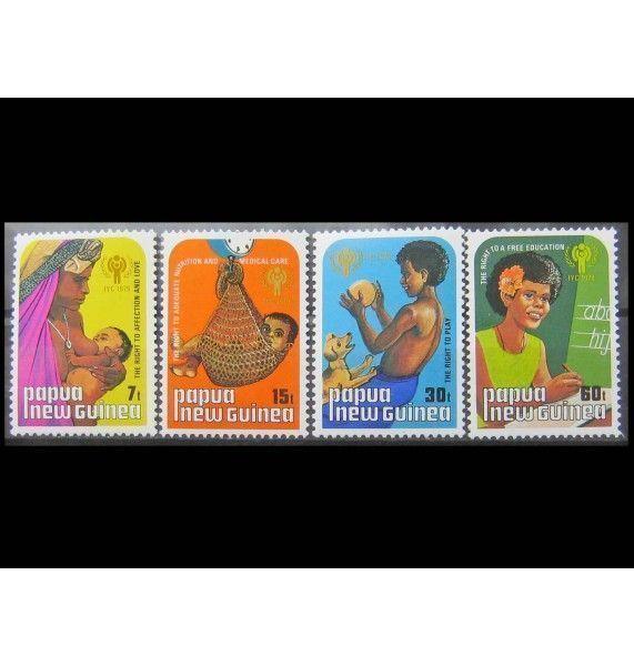 "Папуа-Новая Гвинея 1979 г. ""Международный год ребенка"""
