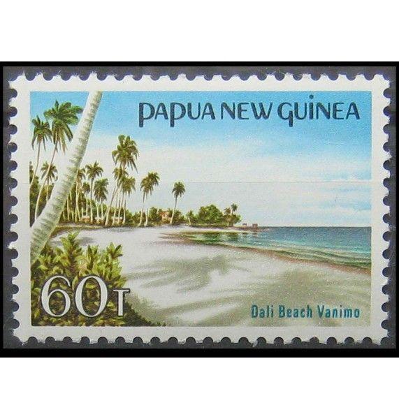 """Папуа-Новая Гвинея 1985 г. """"Ландшафты"""""""