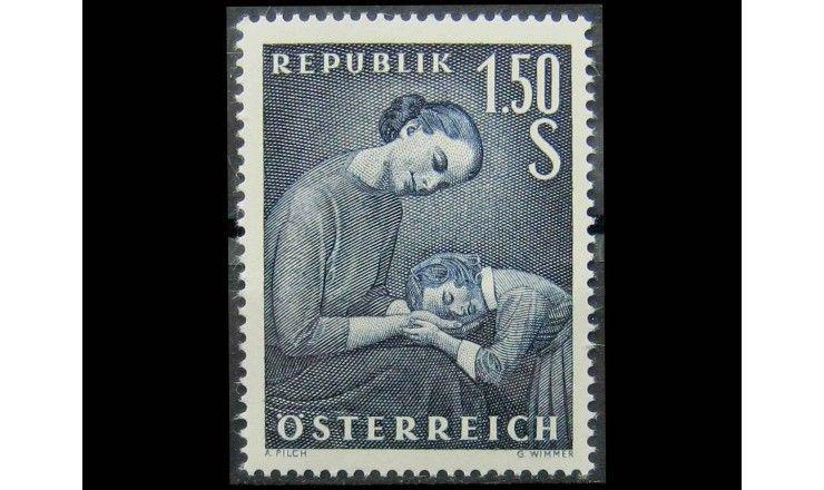 """Австрия 1958 г. """"День матери"""""""