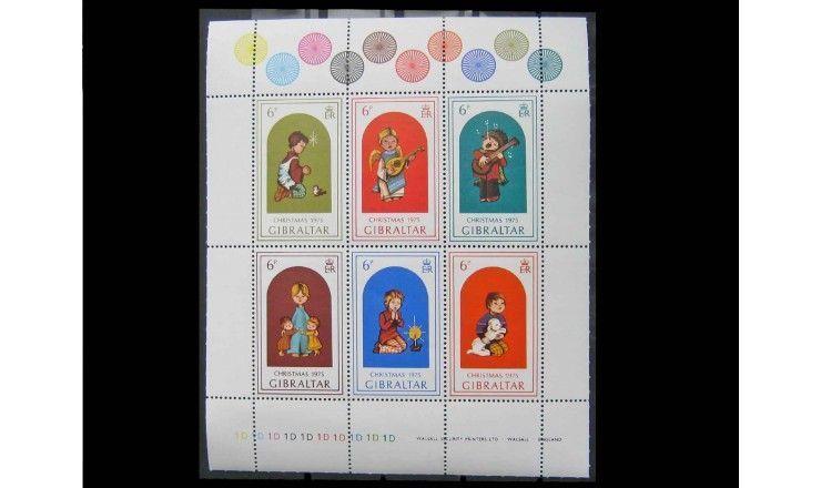"Гибралтар 1975 г. ""Рождество"""