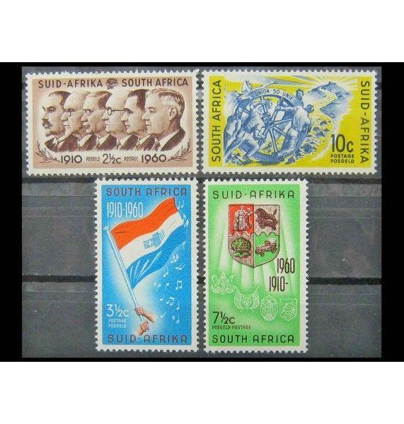 "ЮАР 1961 г. ""50 лет ЮАР с новой валютой"""