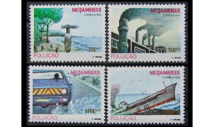 """Мозамбик 1993 г. """"Загрязнение окружающей среды"""""""