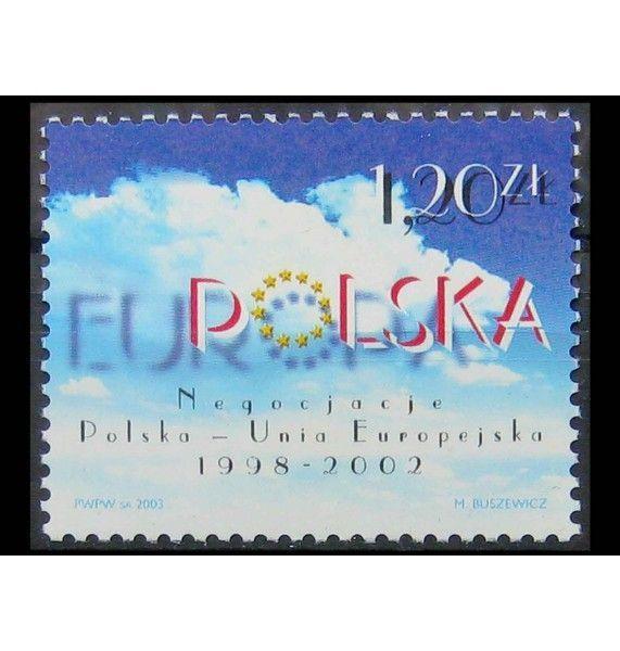 """Польша 2003 г. """"Переговоры о вступлении в Европейский Союз"""""""
