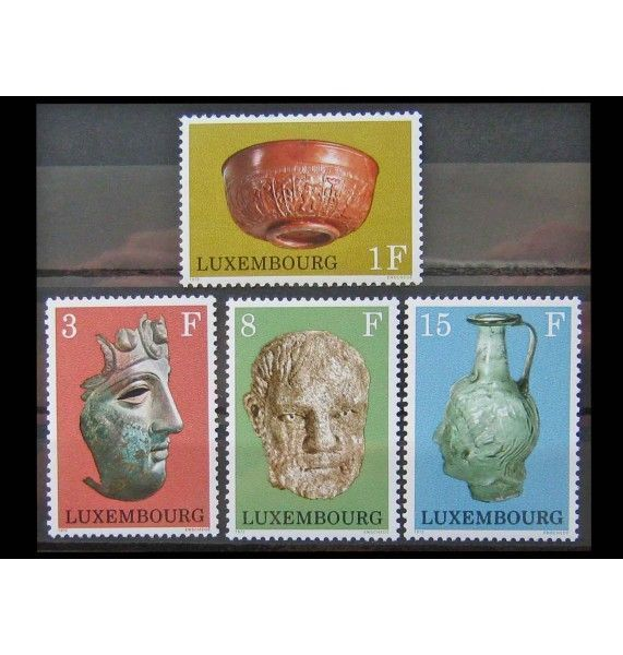 "Люксембург 1972 г. ""Археологические находки"""