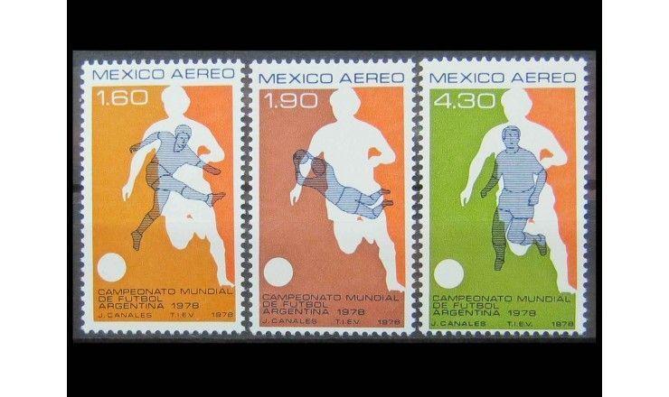 "Мексика 1978 г. ""Чемпионат мира по футболу, Аргентина"""