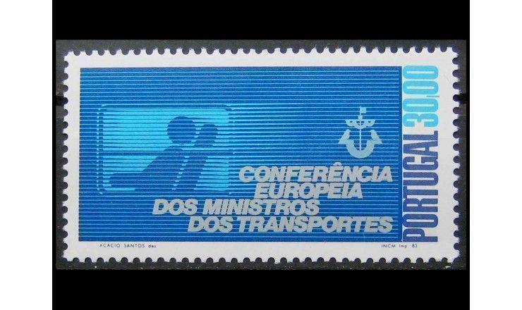 """Португалия 1983 г. """"Европейская Конференция Министров Транспорта"""""""
