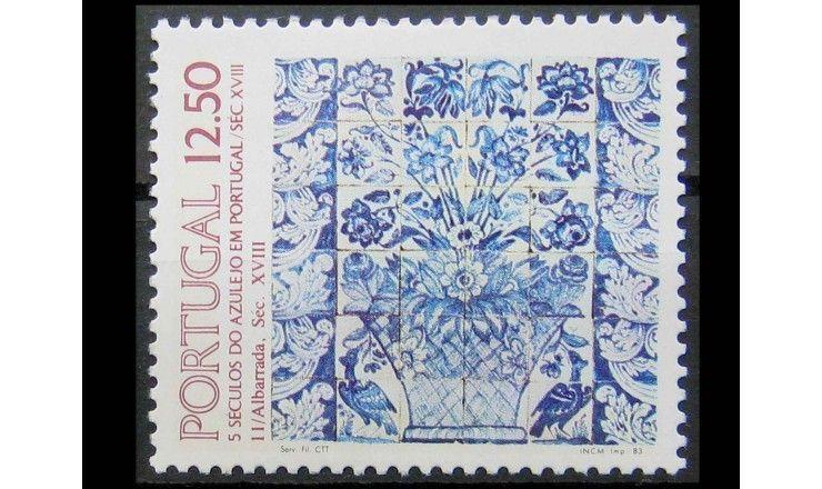 """Португалия 1983 г. """"Португальский азулежу"""""""