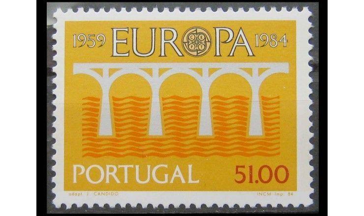 """Португалия 1984 """"25-летие Европа C.E.P.T."""""""