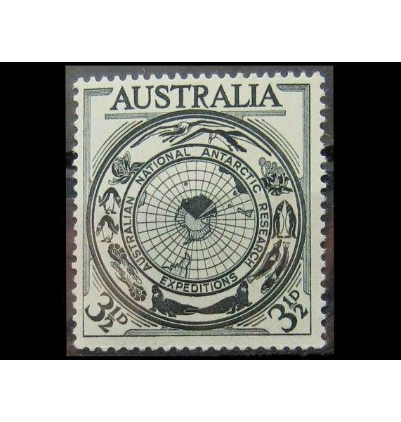 """Австралия 1954 г. """"Австралийские антарктические исследования"""""""