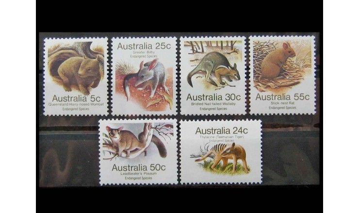 """Австралия 1981 г. """"Исчезающие виды"""""""