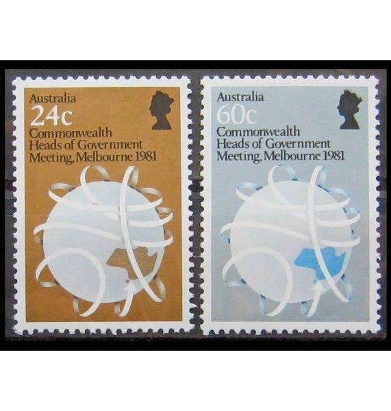 """Австралия 1981 г. """"Конференция глав правительств Содружества Наций"""""""