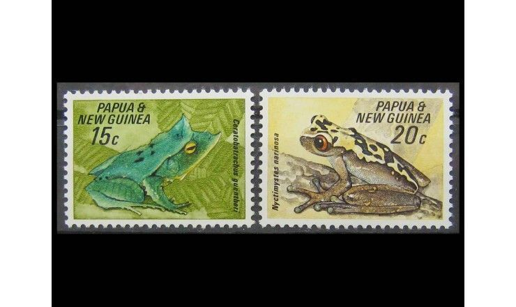 "Папуа-Новая Гвинея 1968 г. ""Лягушки"""