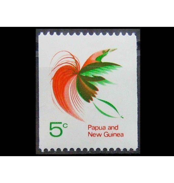 """Папуа-Новая Гвинея 1969 г. """"Реггианова райская птица"""""""