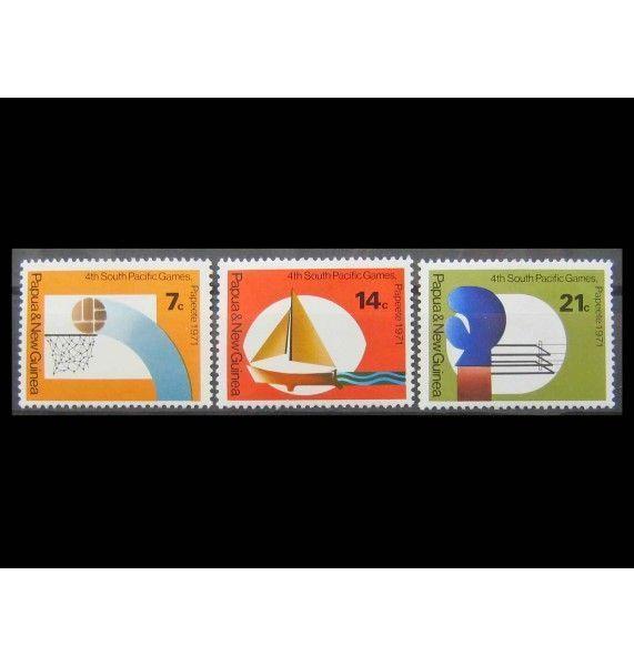 """Папуа-Новая Гвинея 1971 г. """"Южнотихоокеанские игры, Папеэте"""""""