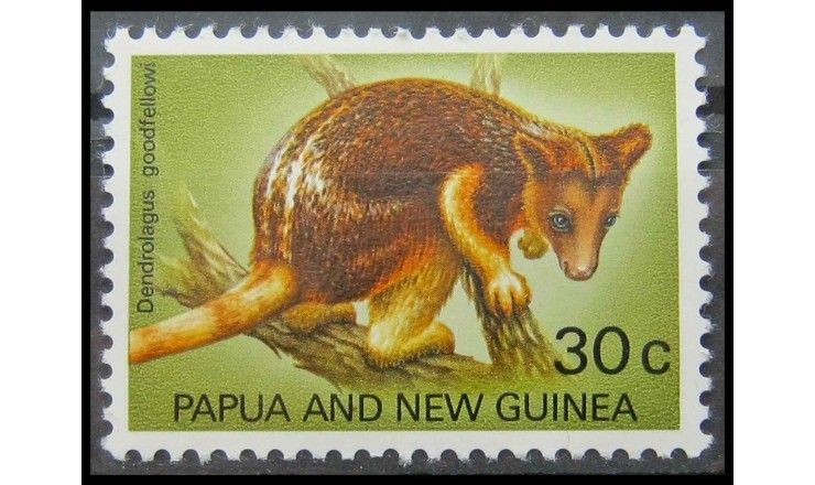 """Папуа-Новая Гвинея 1971 г. """"Кенгуру Гудфеллоу"""""""