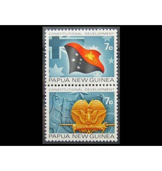 """Папуа-Новая Гвинея 1972 г. """"Конституционное развитие страны"""""""