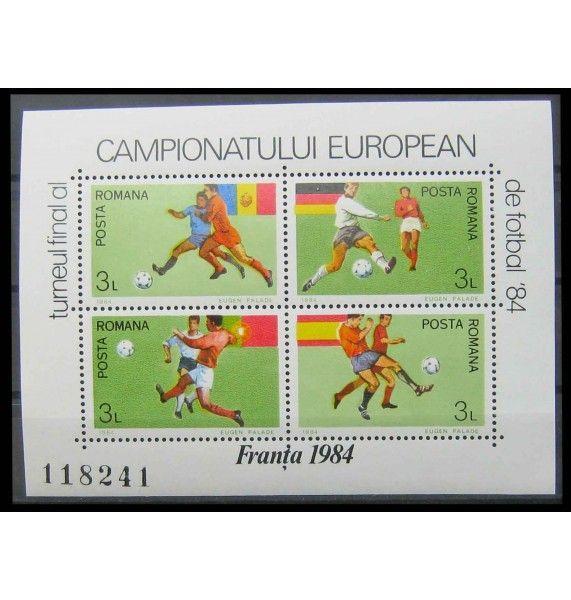 """Румыния 1984 г. """"Чемпионат Европы по футболу, Франция"""""""