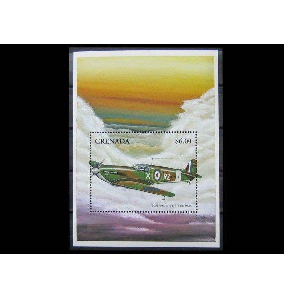 "Гренада 1998 г. ""Истребители Супермарин Спитфайр"""