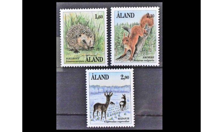 """Аландские острова 1991 г. """"Млекопитающие"""""""