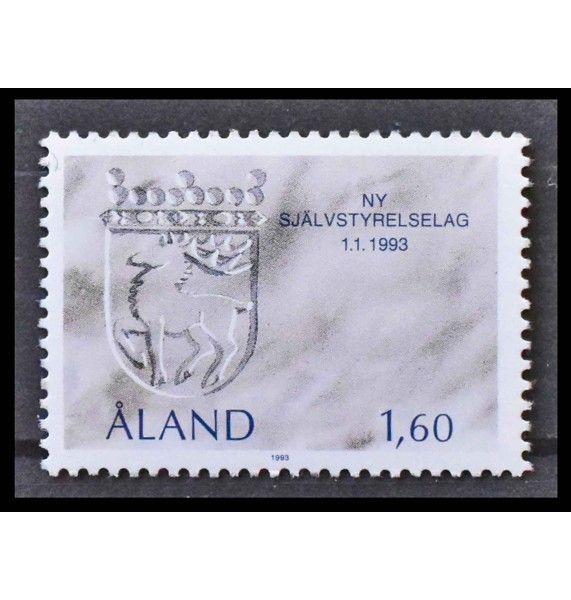 """Аландские острова 1993 г. """"Новый закон о самоуправлении"""""""