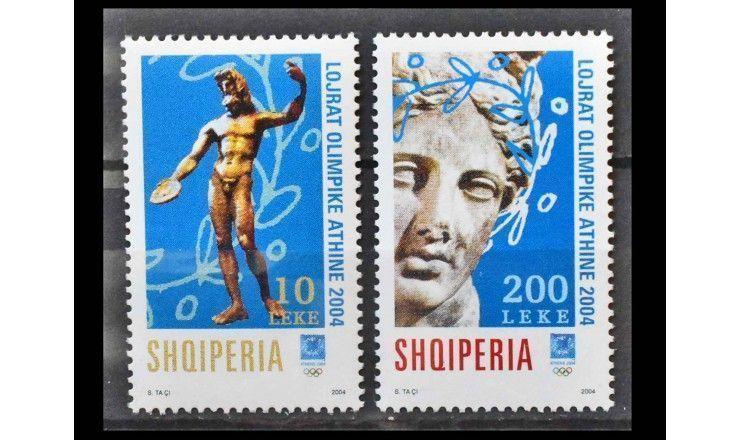 """Албания 2004 г. """"Летние Олимпийские игры, Афины"""""""