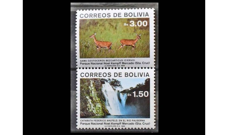 """Боливия 1989 г. """"Национальный парк «Ноэль-Кемпфф-Меркадо»"""""""