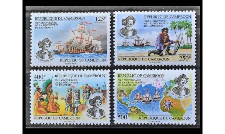 """Камерун 1992 г. """"500 лет открытия Америки"""""""