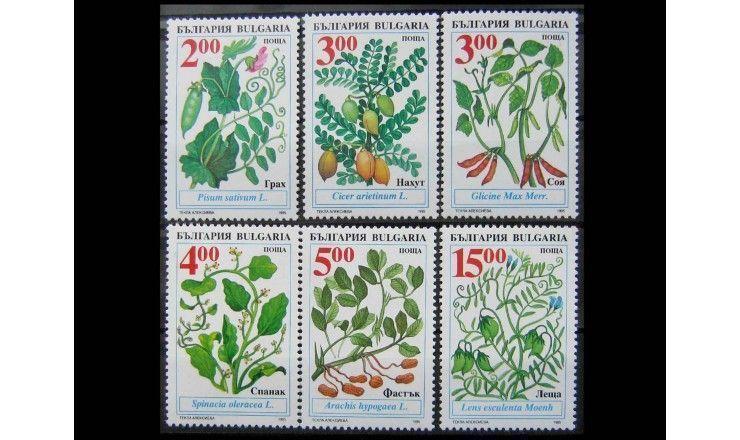 """Болгария 1995 г. """"Полезные растения"""""""