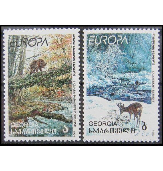 """Грузия 1999 г. """"Природа и национальные парки"""""""