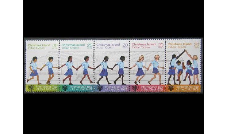 """Остров Рождества 1979 г. """"Международный год ребенка"""""""