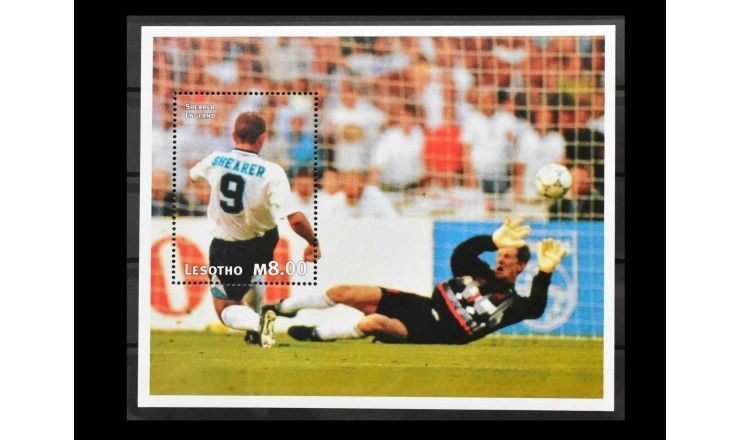 """Лесото 1997 г. """"Чемпионат мира по футболу, Франция (1998)"""""""