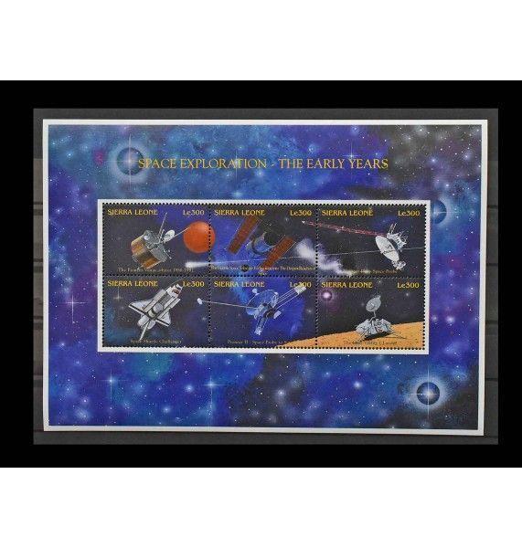 """Сьерра-Леоне 1996 г. """"Космический аппарат"""""""