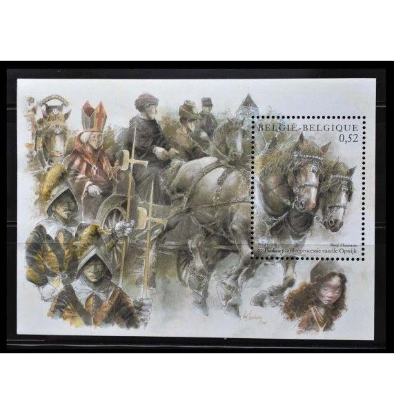 """Бельгия 2002 г. """"Лошади"""""""
