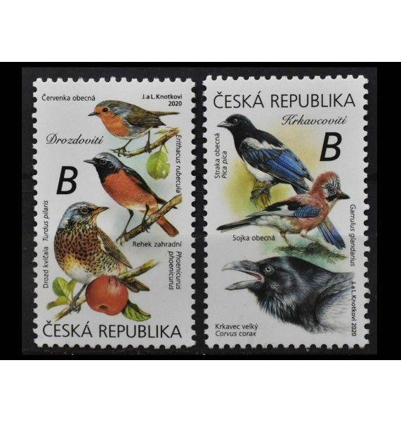 """Чехия 2020 г. """"Певчие птицы"""""""