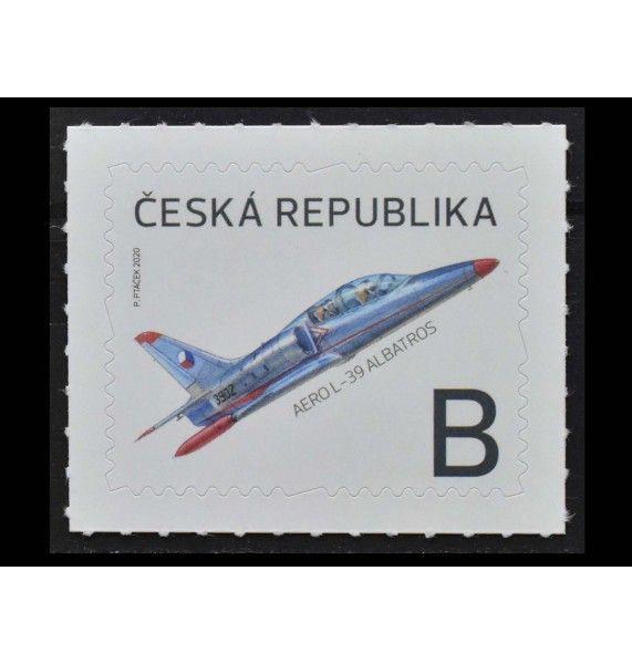 """Чехия 2020 г. """"Самолет Аэро Альбатрос"""" (самоклейка)"""