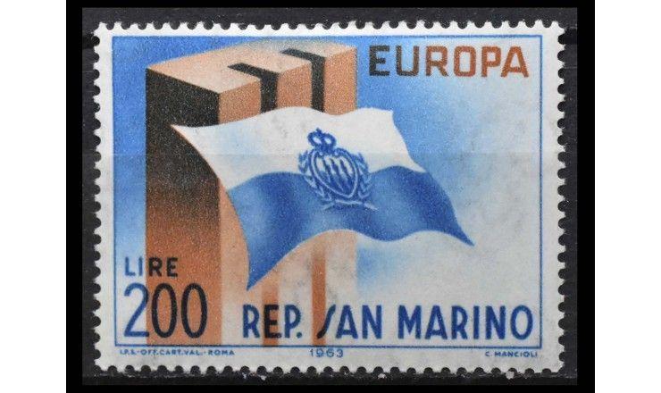 """Сан-Марино 1963 г. """"Европа"""""""