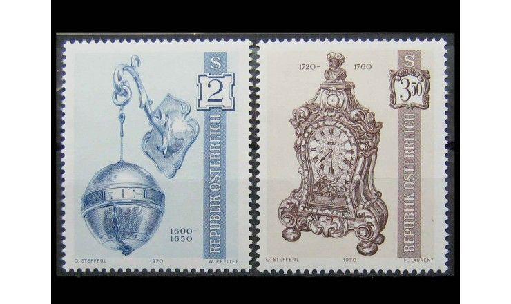 """Австрия 1970 г. """"Старинные часы"""""""