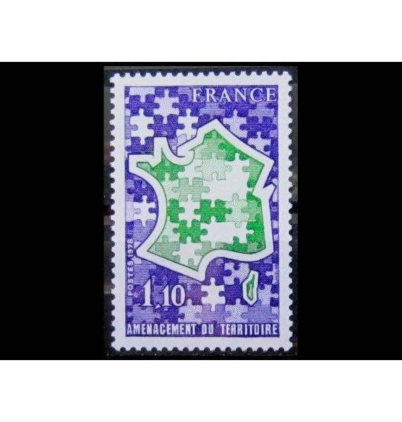"""Франция 1978 г. """"15 лет DATAR"""""""