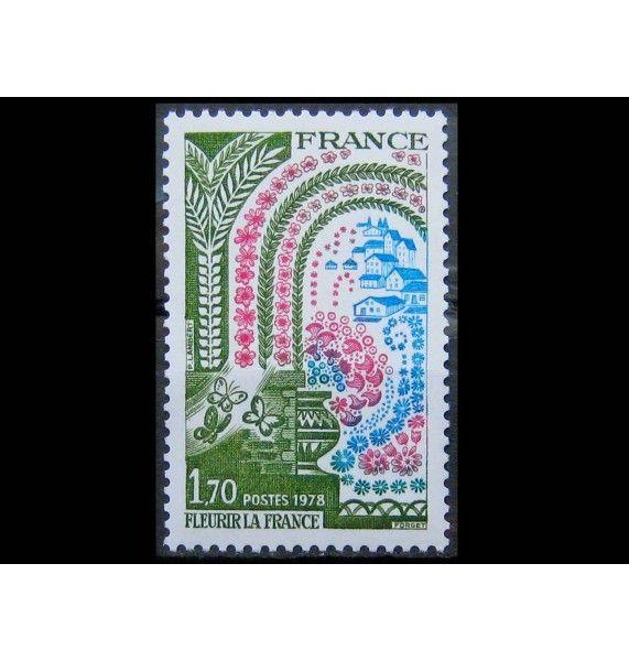 "Франция 1978 г. ""20 лет кампании ""Цветущая Франция"""