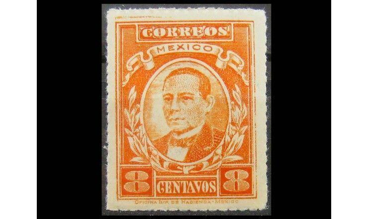 """Мексика 1927 г. """"Бенито Хуарес"""""""