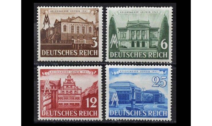 "Германия (Третий Рейх) 1941 г. ""Лейпцигская весенняя ярмарка"""