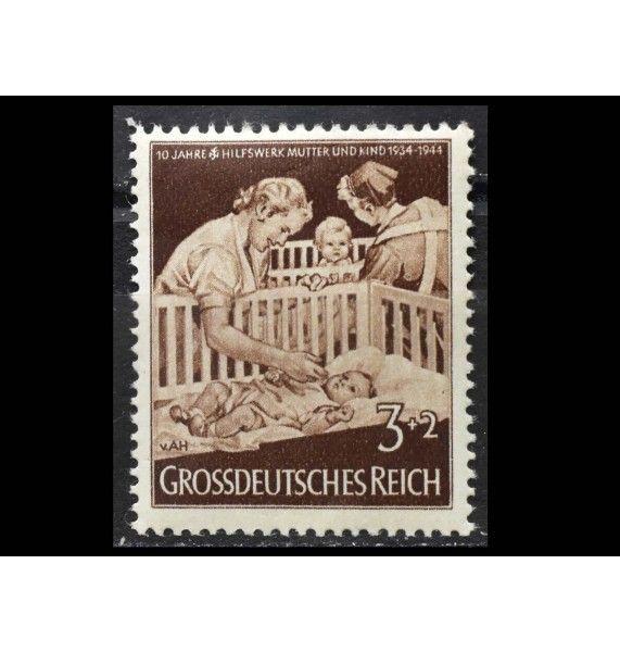 """Германия (Третий Рейх) 1944 г. """"10 лет Организации помощи «Мать и дитя»"""""""